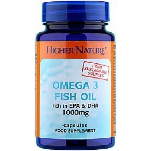 Higher nature omega 3 fish oil seek natural for Fish oil for eczema