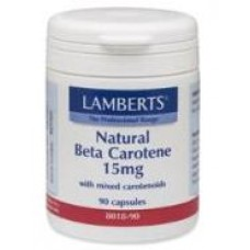 Natural Beta Carotene with mixed carotenoids 15mg